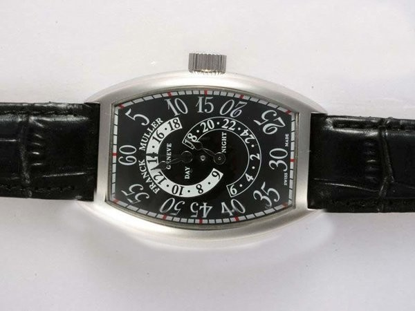 Fake Modern Franck Muller Double Retrogarde Hour Flyback Function Automatic AAA Watches [S9G7]
