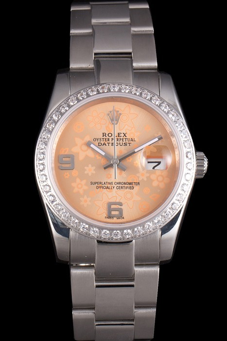 Fake Gorgeous Rolex Datejust AAA Klokker [ J6C7 ]