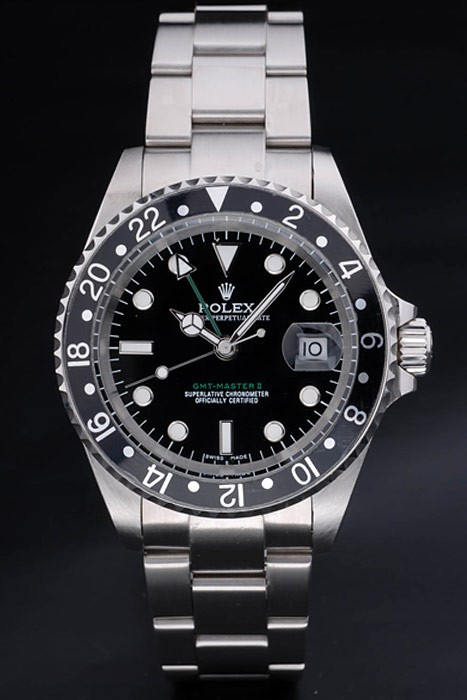 Perfect Fake Rolex GMT Master II Montres AAA [ M1J5 ]