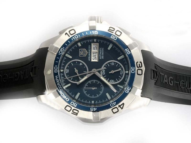 Fake Cool Tag Heuer Carrera Chronograph Automatic with AR Coating Same Chassis As  Movement AAA Watches [L1R1]