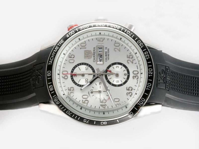 Fake Great Tag Heuer Carrera Calibre 16 New Version Working Chronograph AAA Watches [X6R5]