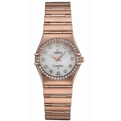1.158,75 Réplica relógios Omega Constellation Ladies Quartz
