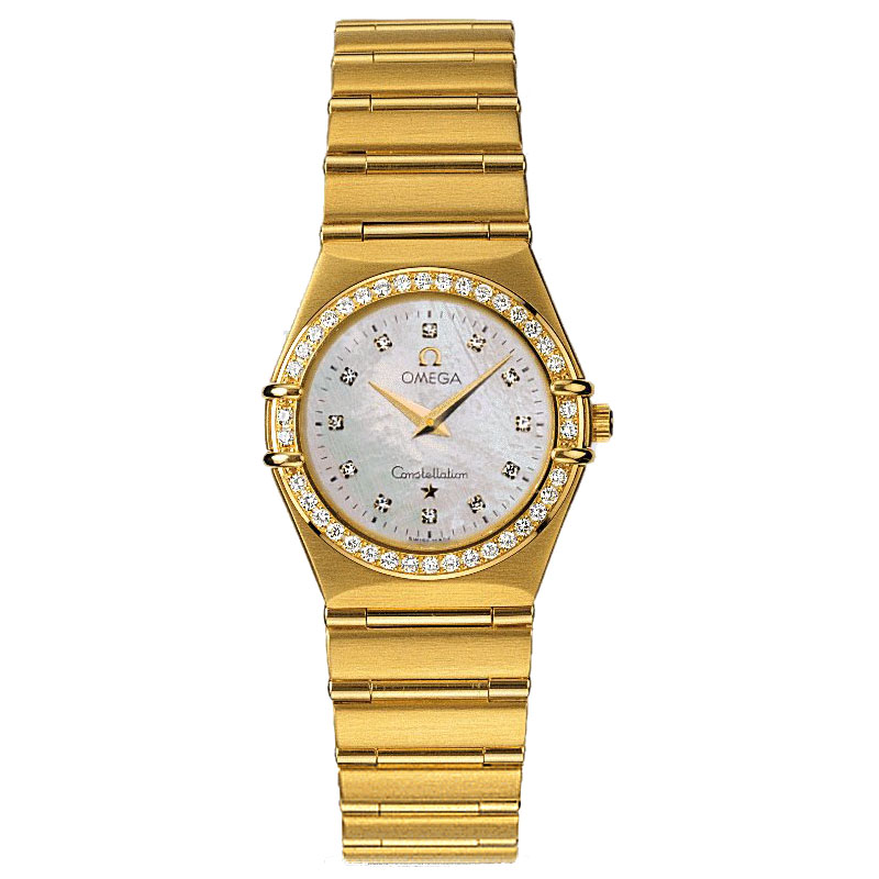 1.177,75 Réplica relógios Omega Constellation Ladies Quartz