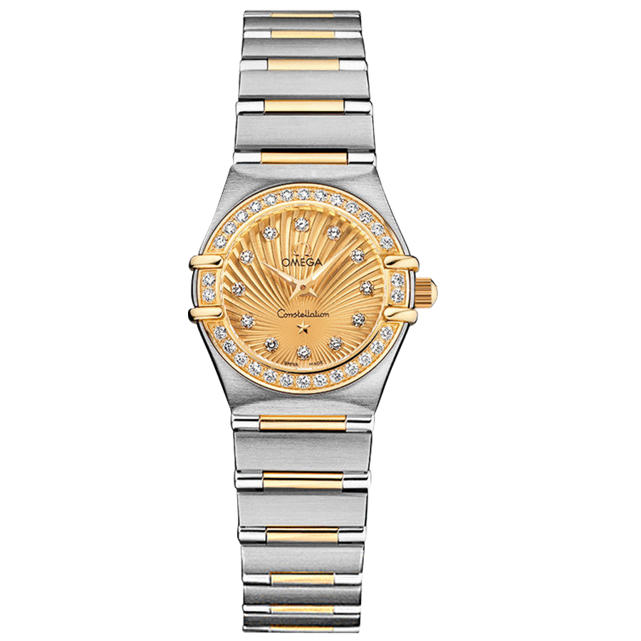 111.25.23.60.58.001 Replica relógios Omega Constellation Ladies Quartz assistir Zhang Ziyi endosso