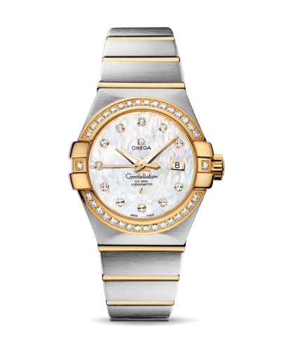 123.25.31.20.55.003 Replica relógios Omega Constellation Ladies Watch automática mecânica