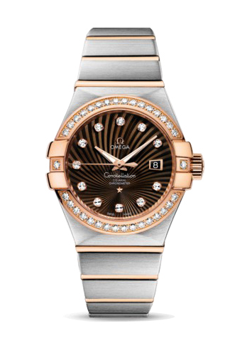 123.25.31.20.63.001 Replica relógios Omega Constellation Ladies Watch automática mecânica