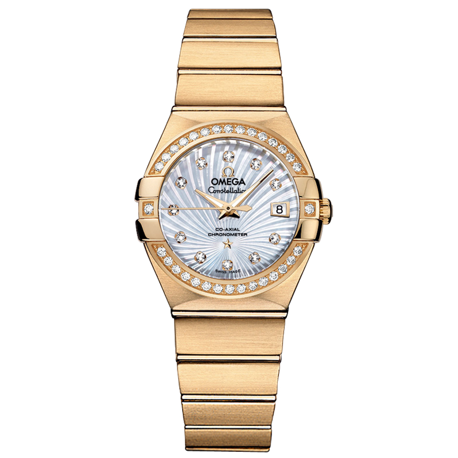 123.55.27.20.55.002 Replica relógios Omega Constellation Ladies Watch automática mecânica