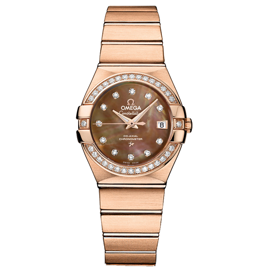123.55.27.20.57.001 Replica relógios Omega Constellation Ladies Watch automática mecânica