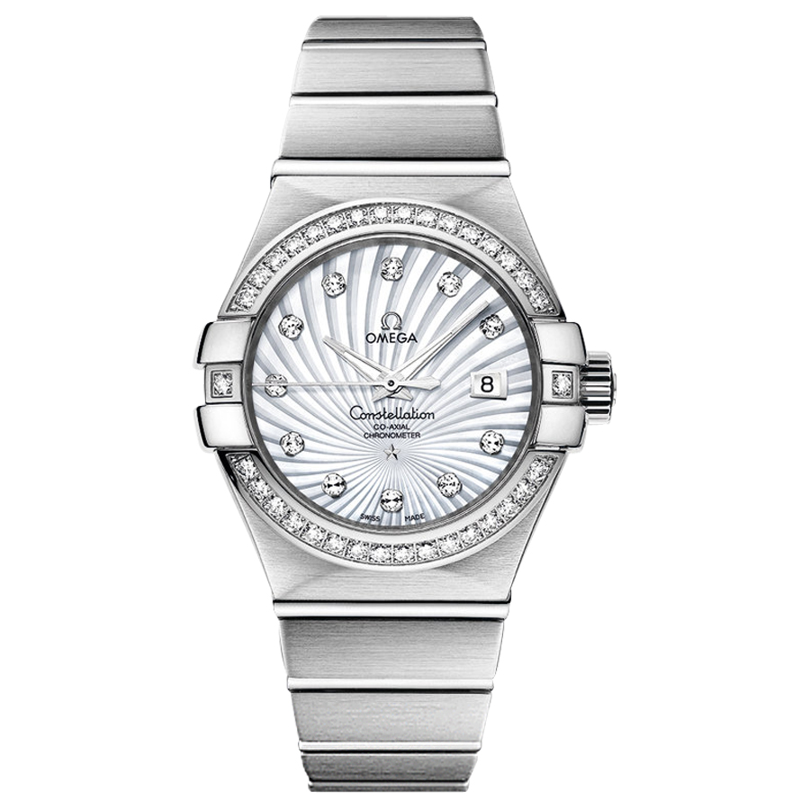 123.55.31.20.55.003 Replica relógios Omega Constellation Ladies Watch automática mecânica