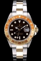 Falso legal Rolex GMT Master II AAA Relógios [ J7N1 ]